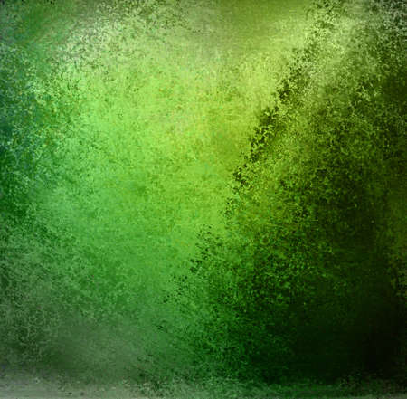 green background: abstract green background or green paper, Christmas background with lots of rough distressed black vintage grunge background texture design, elegant blank copyspace for graphic art use or website
