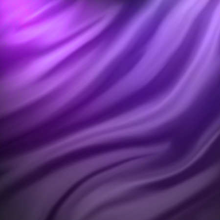 abstract pink and purple cloth background or water liquid illustration with wavy flowing folds and dark creases in the smooth satiny looking material design with curves and shine textured surface  Stock Photo