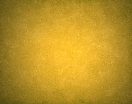 abstract gold background warm yellow color tone, vintage background texture faint grunge sponge design border, yellow paper or website template background design layout, fall autumn background image  photo