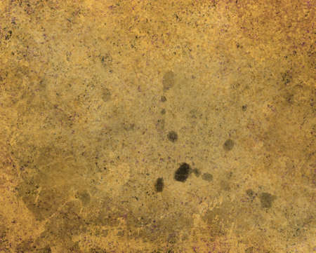 abstract brown background stains on brown paper bag illustration or ancient old parchment design, aged tan vintage grunge background texture, yellowed distressed old brown painted canvas, sepia tone Stock Illustration - 19577593