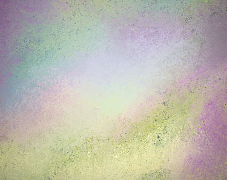 abstract colorful background with old messy vintage grunge background texture faded with soft purple pink background watercolor spots for aged layout design for brochure ad or website template Stock Photo - 19577594
