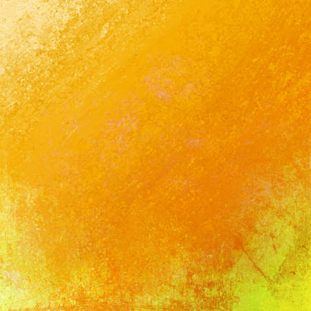 abstract yellow background or gold background of orange grunge paper layout of rough messy old vintage texture or wallpaper for autumn color design for brochure ad or web template background color Stock Photo - 19744760