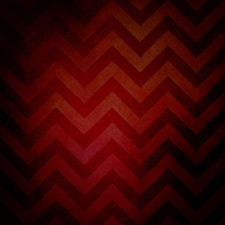 abstract chevron background zigzag pattern, zigzag stripe lines in red black background on vintage grunge background texture canvas, old worn antique abstract background illustration for web design illustration