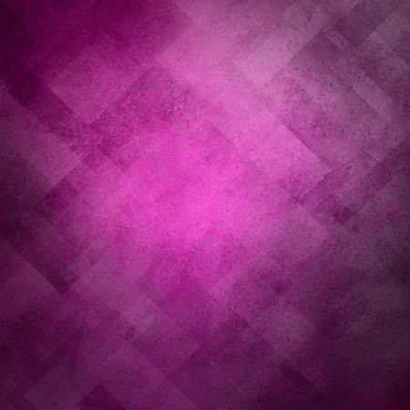 abstract purple background pink pattern design on old vintage grunge background texture, purple paper diagonal block pattern with geometric shapes, line design elements, luxury background for web ad Stock Photo - 20165561
