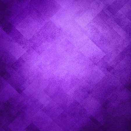 abstract purple background image pattern design on old vintage grunge background texture, purple paper diagonal block pattern with geometric shapes and line design elements, soft luxury background Stock Photo - 20165554