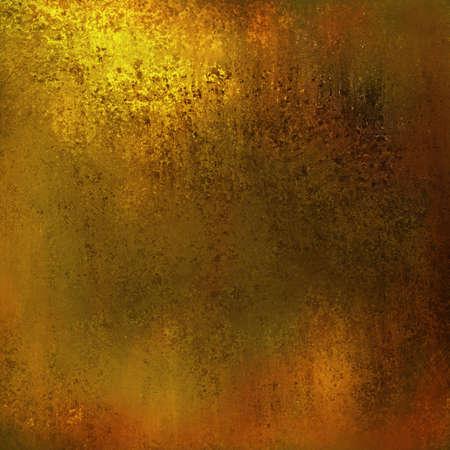 coppery: grunge, fondo oro layout di disegno, astratto sfondo giallo caldo tono di colore marrone con vintage grunge texture di sfondo, terra o fondo terroso, lusso patina d'oro o di bronzo o ottone colori Archivio Fotografico