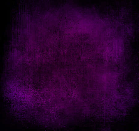 royal purple background black vignette frame old distressed vintage grunge background texture rough stain messy grungy background texture aged linen canvas purple paper wallpaper or brochure backdrop Stock Photo - 20165581