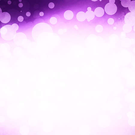 website design template background, purple white lights for website header or sidebar, abstract purple background, white circle spots or dot shapes, white star lights glitter shine with white center photo