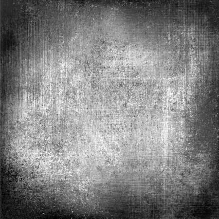 rustic: black white background paper old distressed vintage grunge background texture stained messy dirty background monochrome color canvas linen background material illustration, aged silver background gray