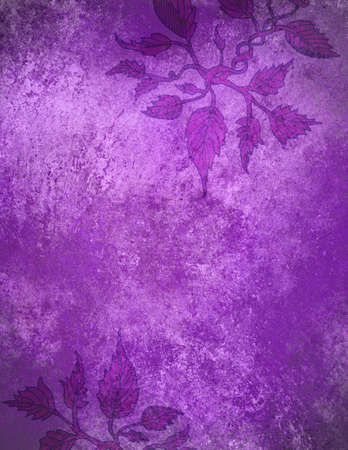 ivy wall: abstract purple background