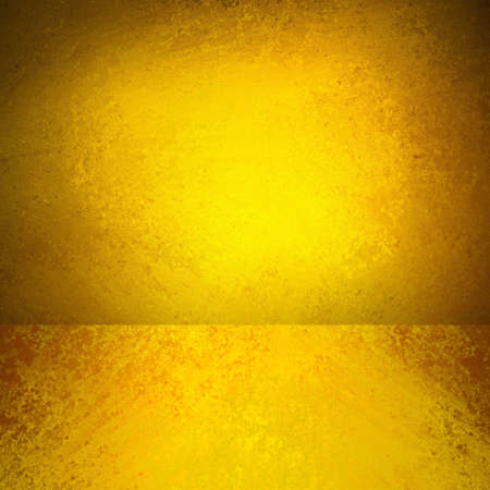 abstract gold background yellow orange corner design, banner sidebar footer web design template, empty room box display showcase for product ad brochure layout, rough vintage grunge background texture Stock Photo - 21054176