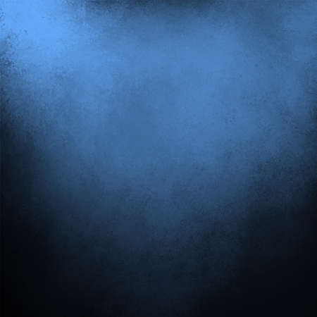 cloudy blue and black background with vintage grunge texture design photo
