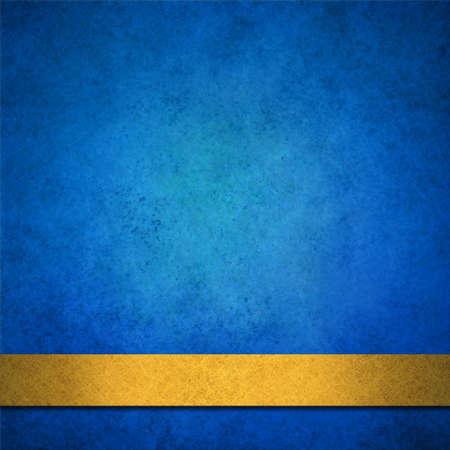 zafiro: fondo azul cinta de oro abstracto o folleto fondo apenado, aniversario, aviso del bebé, elegante papel azul de fondo con la vendimia del grunge textura de fondo, el zafiro azul de la pared