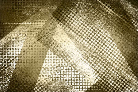 grunge layer: abstract grid background, brown white mesh design background, geometric angle or triangle shape elements in a modern contemporary abstract collage background for graphic art use in web or brochure art