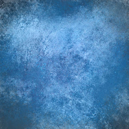 abstract blue background, vintage grunge background texture design, elegant antique painted wall illustration cloudy sky blue color paper, web background template, white grungy background paint layout Stock Illustration - 21732763