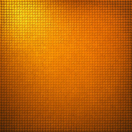 grid paper: abstract grid background texture pattern design, mesh grill background circle colored glossy shape metallic metal grill illustration, techno orange background, gold yellow warm geometric background