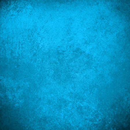 solid background: abstract blue background antique old vintage grunge background texture layout design, sky blue color background web template elegant solid blue background paper poster brochure website or stationary Stock Photo