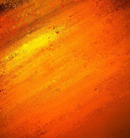 spruchband: abstrakte orange Hintergrund gelbe Farbe color splash, schmierte blur Pinselstrich Effekt, hell feurigen Farben, warmen Hintergrund, gequält Grunge Textur, verwitterten alten Papier, Broschüre Anzeige oder Website Lizenzfreie Bilder