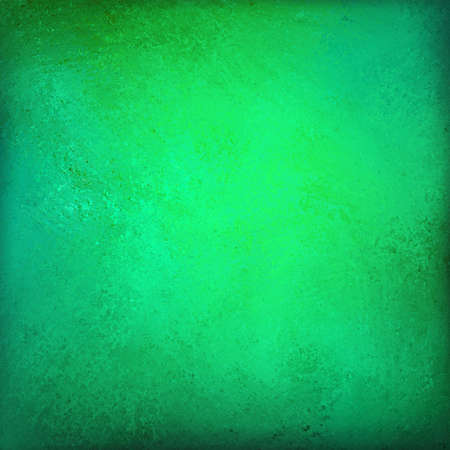 abstract green background gold corner design color splash stain, faint vintage grunge background texture, old Christmas background paper, distressed green colors for elegant website background Stock Photo - 21732777