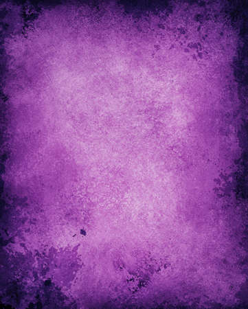 old vintage paper  distressed rough background  abstract purple background black vignette border color, vintage grunge background texture, antique retro style graphic, solid purple background, grungy Stock Photo - 21732792