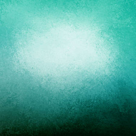 abstract blue background white cloud in sky concept or white center color splash for text blended into sky blue color with black bottom border, vintage grunge background texture design layout for web Stock Photo - 21732794