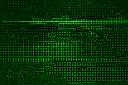 abstract green grid background mesh net holes, distressed vintage grunge background texture, web banner background sidebar, technology background, business report, techno background, sales brochure, Stock Photo - 21732795