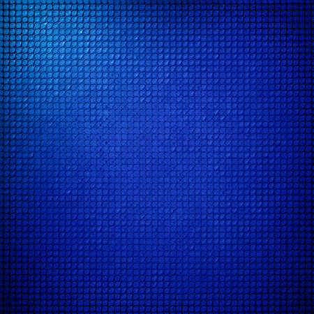 grid background: abstract grid background texture pattern design, mesh grill background circle colored glossy shape metallic metal grill illustration, techno blue background, modern stripe shiny geometric background  Stock Photo
