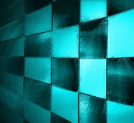 abstract blue background black checkered patter or checkerboard, race car style flag, block wall background effect light, vintage grunge background texture design, website template background, squares photo