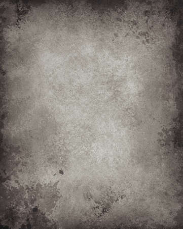 abstract black background gray gradient border with burnt edges on frame of wallpaper with vintage grunge paper texture, black and white background monochrome old vignette design for printing brochure Stock Photo - 21803412