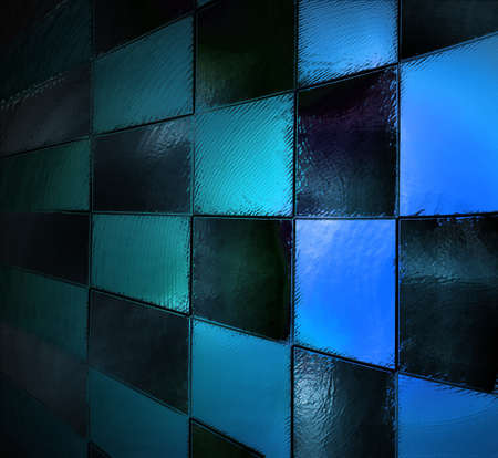 abstract blue background Stock Photo - 22009165
