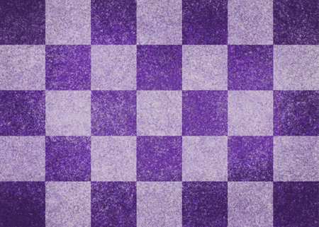 purple and white checkered background Stock Photo - 22071566