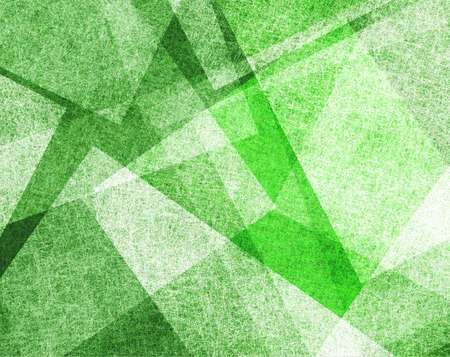 power point: abstract green background with white parchment paper geometric shapes, background texture, linen canvas style, background for graphic designers, website template background, modern contemporary art  Stock Photo