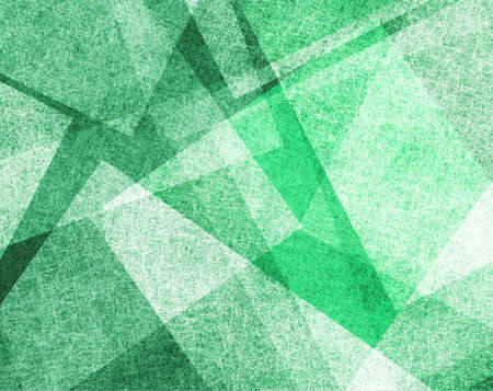 abstract green background with white parchment paper geometric shapes, background texture, linen canvas style, background for graphic designers, website template background, modern contemporary art  photo