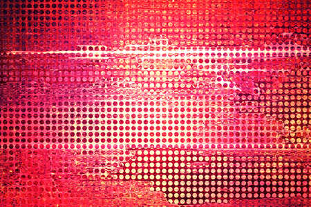 abstract grid background mesh net holes with distressed vintage grunge background texture, graphic art design image for web banner background sidebar or app background, detail technology background, business report, techno pink background, brochure,   photo