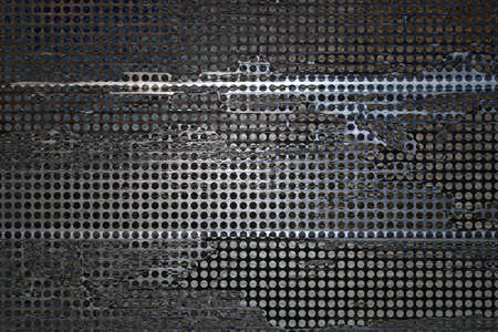 abstract grid background black rough distressed vintage grunge background texture pattern, mesh net background  web design graphic image  brochure background, techno urban modern art style background photo