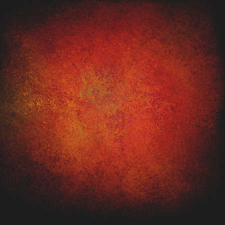 abstract warm background red orange vintage grunge background texture design elegant painted wall paper, or web background templates. Stock Photo - 22507621