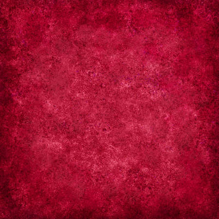 abstract red background of vintage grunge background texture design of elegant antique paint on wall for holiday Christmas background paper, or web background templates, grungy old background paint