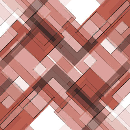 abstract red background layered squares rectangles and diamond shaped angles, geometric design white gray background pink black  Stock Photo - 23025994
