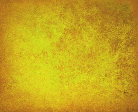 abstract gold background yellow faded stain colors with sponge vintage grunge background texture, distressed rough smeary paint on wall, art canvas or board for brochure ad or website template Stock Photo - 23267297