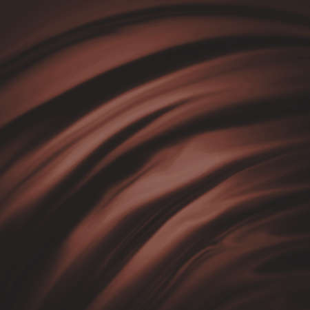 drapery: elegant chocolate brown background material illustration Stock Photo