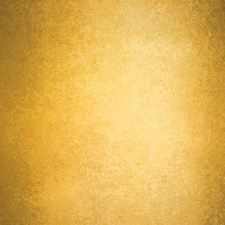 textuur: abstracte gouden achtergrond warme gele kleurtint, uitstekende textuur als achtergrond vaag grunge spons ontwerp grens, geel papier Stockfoto