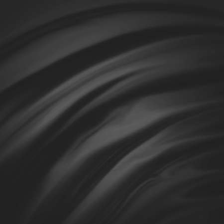 black background abstract cloth Stock Photo - 23322762