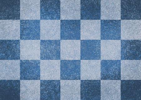 white and blue checkered Stock Photo - 23323077