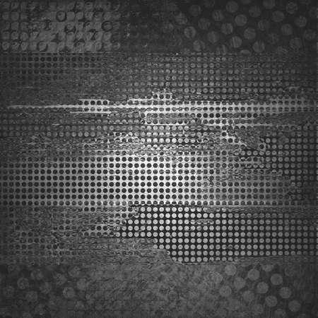 abstract grid black rough distressed vintage grunge texture pattern, mesh net web design graphic image  brochure , techno urban modern art style Stock Photo - 23325218
