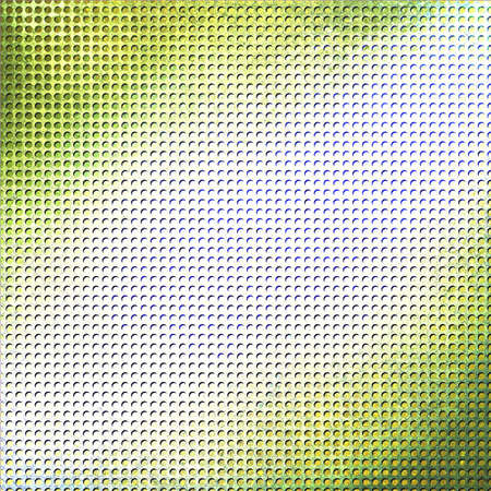 grid paper: abstract green yellow background
