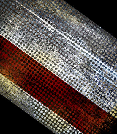 abstract black background red silver grunge texture stripe Stock Photo - 23443366