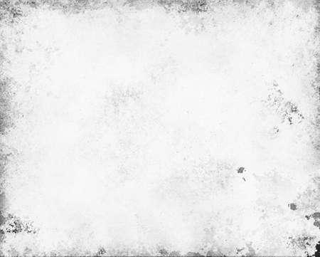 old white paper  gray monochrome background  Foto de archivo