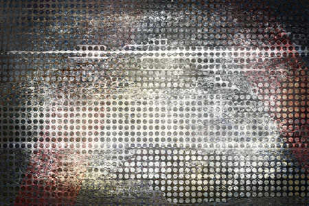 white and gray background grid, messy mesh or net graphic art design texture for grpahic art layouts or web template backgrounds photo