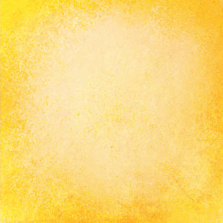 抽象的な背景が黄色またはオレンジ色のグランジ紙またはレイアウトの乱雑な古いビンテージ ザラザラのパンフレットの広告や web テンプレートの