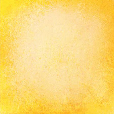 추상적 인 노란색 배경 또는 안내 책자 광고 또는 웹 템플릿 배경 색상 가을 컬러 디자인 사용을위한 거친 지저분한 오래 된 빈티지 질감 또는 벽지 오